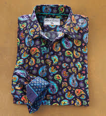 Robert Graham Animal House Long Sleeve Sport Shirt