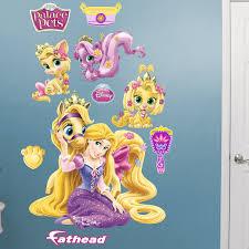Fathead Disney Palace Pets Rapunzel Disney Princesses Wall Decal Wayfair