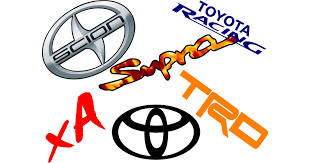 Custom Toyota Decals And Toyota Stickers Any Size Color