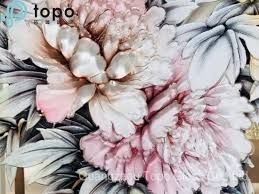 china 3d decorative art peony flower