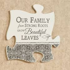 our family quote puzzle piece wall art puzzle pieces puzzle