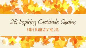 inspiring gratitude quotes happy thanksgiving