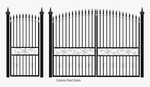 Catania Steel Gates Metal Steel Gate Png Transparent Png Transparent Png Image Pngitem