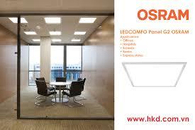 Đèn LED panel âm trần OSRAM lựa chọn chiếu sáng hoàn hảo cho Văn phòng