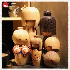 Búp bê gỗ Kokeshi là món đồ chơi, trang... - Cảm nhận Nhật Bản