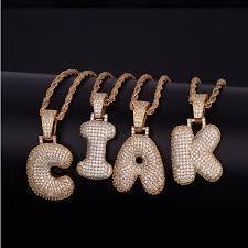 alphabet letter name fashion 925 silver