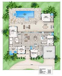 florida style house plan number 52912