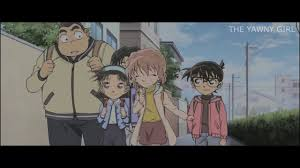 Conan x Haibara || Can't help falling in love with you - YouTube