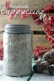 homemade cappuccino mix recipe little