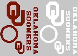 Oklahoma Sooners Cornhole Decal Set Fr Buy Online In Oman At Desertcart