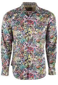 Robert Graham Men's Rallis Floral Sport Shirt - Pinto Ranch