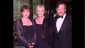 Judi Dench and her husband Michael ...