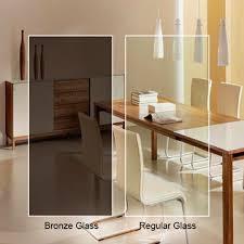bronze glass custom cut dulles