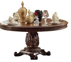 acme furniture vendome pedestal dining