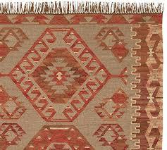 damen synthetic kilim rug warm multi