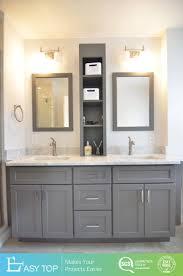 floor standing plywood modern bathroom