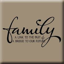 family reunion themes link to our past wall decal family