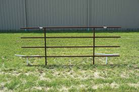 10 Continuous Fence Panels
