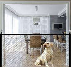 Buy Latest Portable And Folding Dog Gate And Mesh Pet Fence For Dog Safety Indoor And Outdoor Online