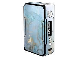 Skin Decal Vinyl Wrap For Voopoo Drag 157w Tc Resin Reg Vape Mod Skins Stickers Cover Teal Blue Gold White Marble Granite Newegg Com
