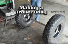 trailer or tow dolly