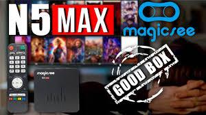 Magicsee N5 Max Amlogic S905X2 Android 4K TV Box Review