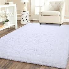 Amazon Com Benron Soft Fluffy Area Rugs For Bedroom Kids Room Shag Furry Fur Rug For Living Room Boys Girls Modern Plush Nursery Rugs Solid Accent Floor Carpet 4x6 Feet White Kitchen