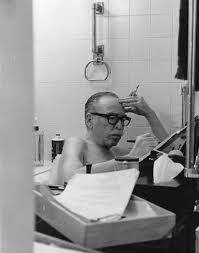 Dalton Trumbo, writing in his bathtub | Dalton trumbo, Image, Black and  white