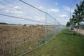 Temporary Fences Ensure Safety On Construction Sites