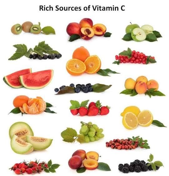 "Image result for vitamin c foods"""