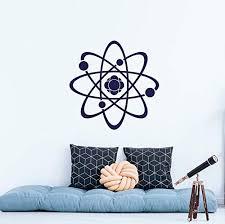 Amazon Com Science Wall Decal Proton Vinyl Sticker Decals Atom Physics Chemistry Wall Nursery Bedroom Decal Classroom Decor Custom Color Bxmxk120 Home Kitchen