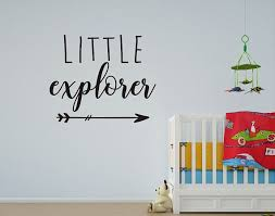 Little Explorer Wall Decal Travel Wall Decal Adventure Wall Etsy Vinyl Wall Decals Childrens Wall Decals Wall Decals