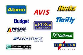 Differences between Avis, Budget, Hertz, Enterprise, Dollar and more.