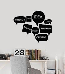 Office Wall Vinyl Decals Tagged Creative Decor Wallstickers4you