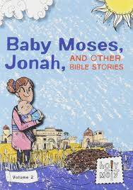 Baby Moses Jonah And Other Bible Stories Volume 2 Holy Moly Bible Dvd Stories St Demiana Bookstore