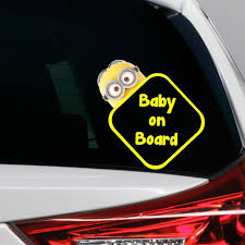 Flunkey Monster Baby On Board Funny Novelty Car Bumper Window Sticker Decal With Images Window Stickers