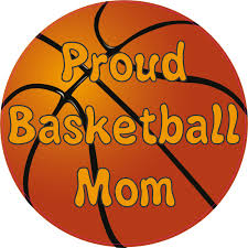 5inx5in Proud Basketball Mom Bumper Sticker Decal Car Window Stickers Vinyl Decals Walmart Com Walmart Com