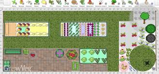 using the garden planner to make the