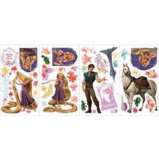 Tangled Peel Stick Wall Decals Rapunzel Maximus Eugene A Complete Guide Disneynews