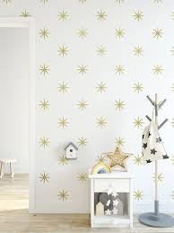 Gold Bright Stars Gold Wall Decals 4 5 Kids Room Decor Gold Star Stickers Girls Wall Decals Gold Wall Decals Kid Room Decor