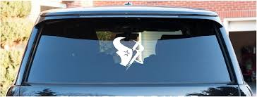 Houston Astros Rockets Texans Vinyl Decal Great Gift You Choose Color Car Window Laptop Mirror Ora Custom Vinyl Decal Custom Vinyl Monogram Vinyl Decal