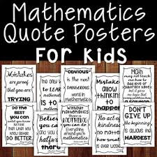 math quote posters by count on me teachers pay teachers