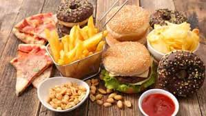 weight loss tip eating junk food in