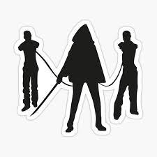 Michonne Stickers Redbubble