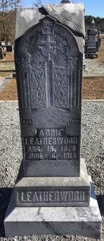 Addie Cooper Leatherwood (1878-1915) - Find A Grave Memorial