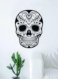 Sugar Skull V14 Art Wall Decal Sticker Vinyl Living Room Bedroom Decor Boop Decals
