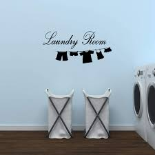 Amazon Com Wall Decal Sticker Vinyl Art Lettering Laundry Room Wall Quotes Home Kitchen