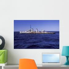 Us Navy Deactivated Ship Wall Decal Wallmonkeys Com