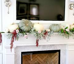 dress your mantel for thanksgiving
