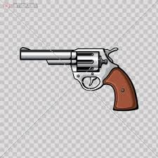 Amazon Com Decal Sticker Pistol Size 5 X 2 7 Inches Vinyl Color Print Kitchen Dining